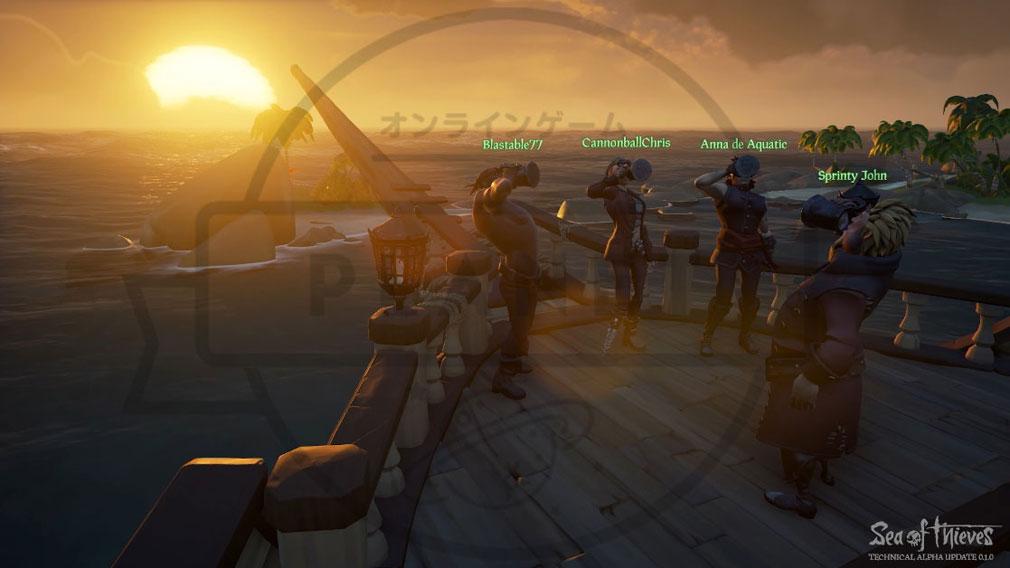Sea of Thieves(シーオブシーヴス) PC 航海中のビール