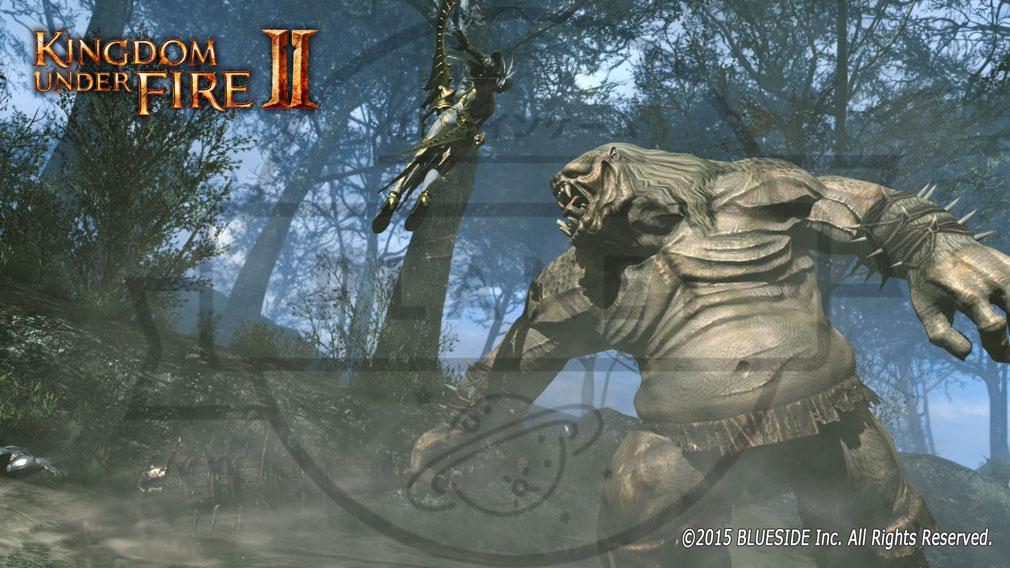 Kingdom Under Fire2(キングダムアンダーファイア)KUF2 PvEフィールドマップモード