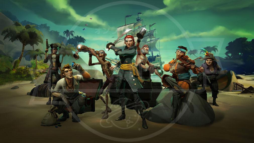 Sea of Thieves(シーオブシーヴス) PC 世界観