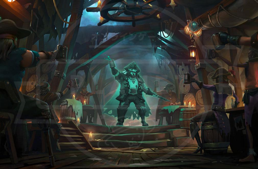 Sea of Thieves(シーオブシーヴス) PC 幽霊船キャプテン