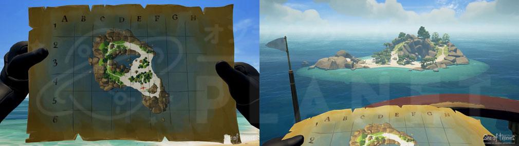Sea of Thieves(シーオブシーヴス) PC 地図
