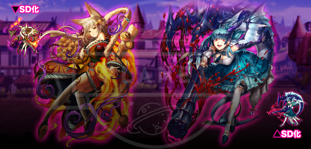 XenoMagia(ゼノマギア) キャラクターの立ち絵とSD化