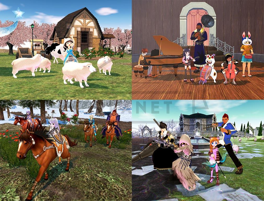 マビノギ ゲームの世界観