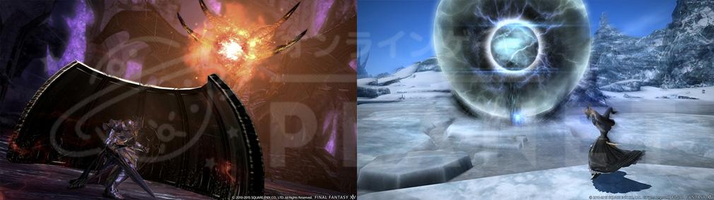 ファイナルファンタジー14(FF14) 蒼天のイシュガルド PC ロール【タンカー、アタッカー】