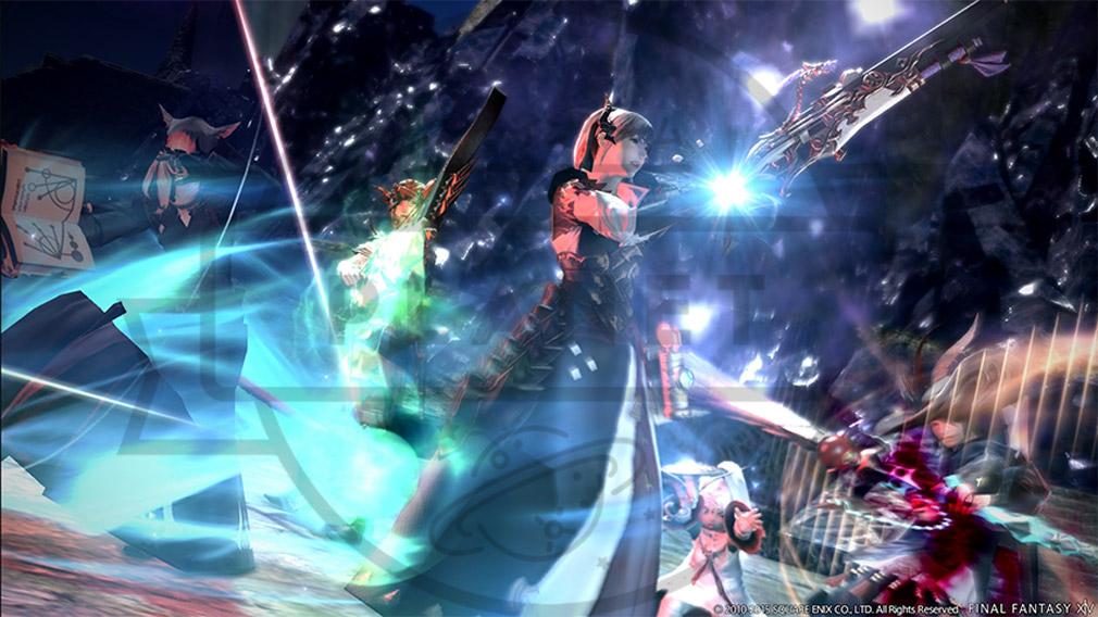 ファイナルファンタジー14(FF14) 蒼天のイシュガルド PC 魔法系クラス