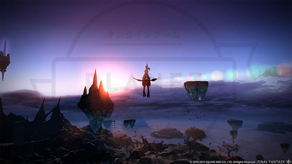ファイナルファンタジー14(FF14) 蒼天のイシュガルド PC マウントスクリんーんショット