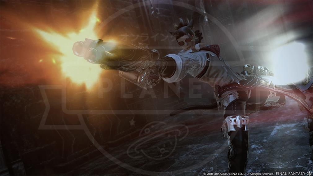 ファイナルファンタジー14(FF14) 蒼天のイシュガルド PC ウェポンスキルアクション