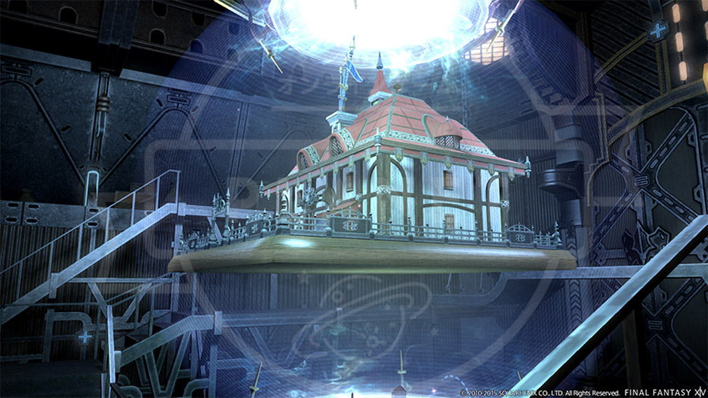 ファイナルファンタジー14(FF14) 蒼天のイシュガルド PC ハウス外観制作
