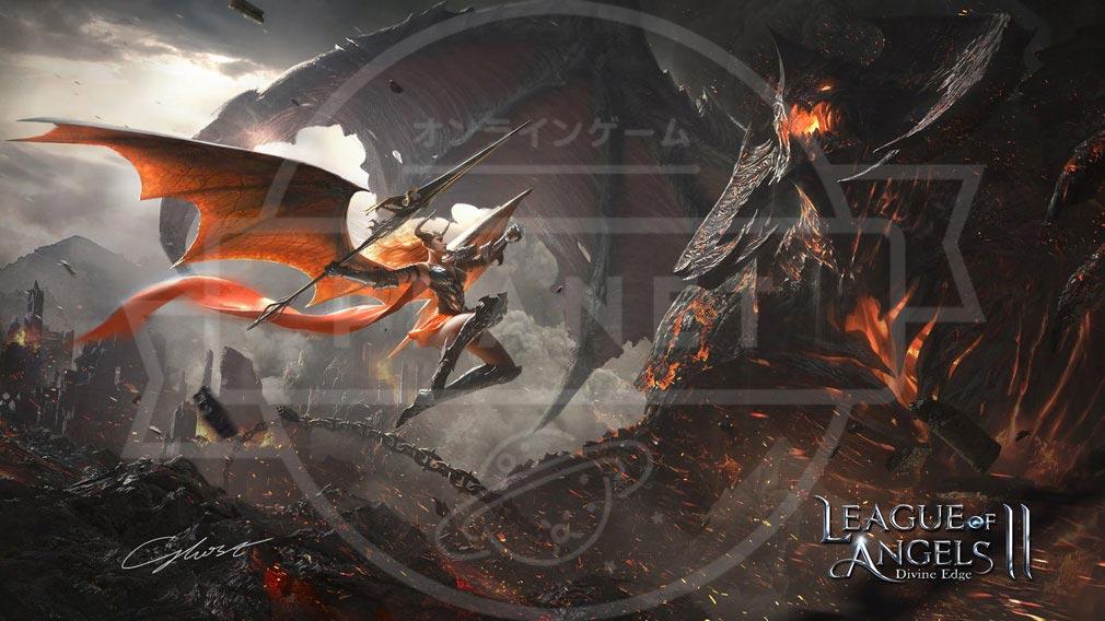 League of Angels2(リーグ オブ エンジェルズ2)LoA2 メインイメージ