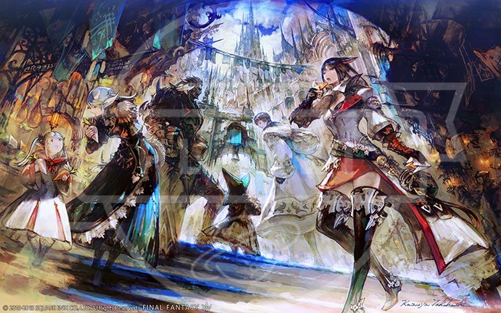 ファイナルファンタジー14(FF14) 蒼天のイシュガルド PC  世界観アートワーク
