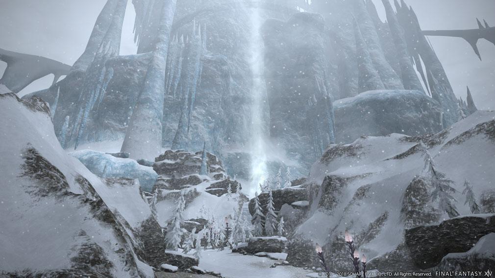 ファイナルファンタジー14(FF14) 蒼天のイシュガルド PC モンハンワールドコラボ『禁断の地 エウレカ』スクリーンショット