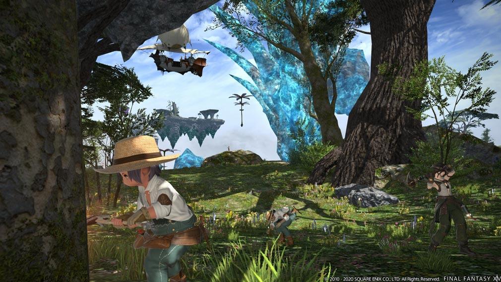 ファイナルファンタジー14(FF14) クラフトスクリーンショット