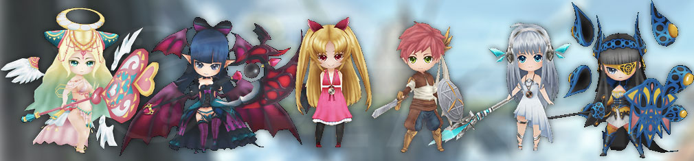 ワールドクロスサーガ 時と少女と鏡の扉 (ワクサガ) PC  3Dスーパーデフォルメキャラクター