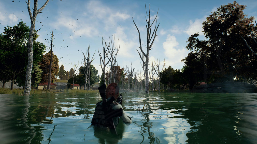 PLAYERUNKNOWN'S BATTLEGROUNDS(PUBG) 水からの狙撃