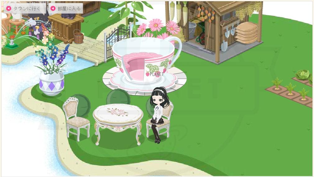 ニコッとタウン 座れる家具