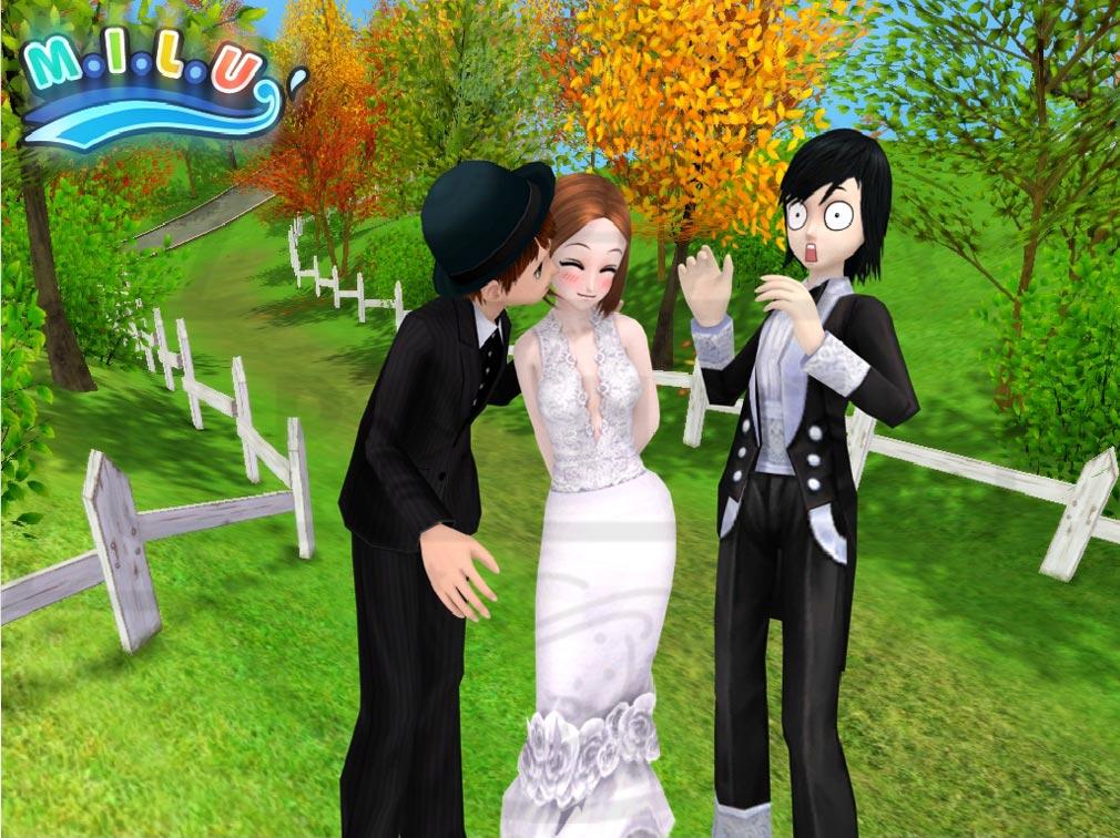 MILU(ミル) PCブラウザ版 結婚システム
