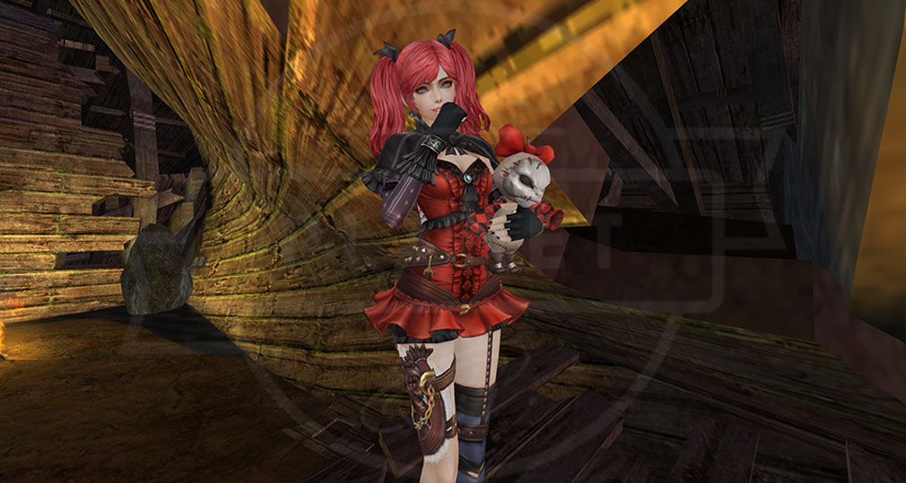 グラナドエスパダ Granado Espada (GE) 美女キャラクター『スカーレット』