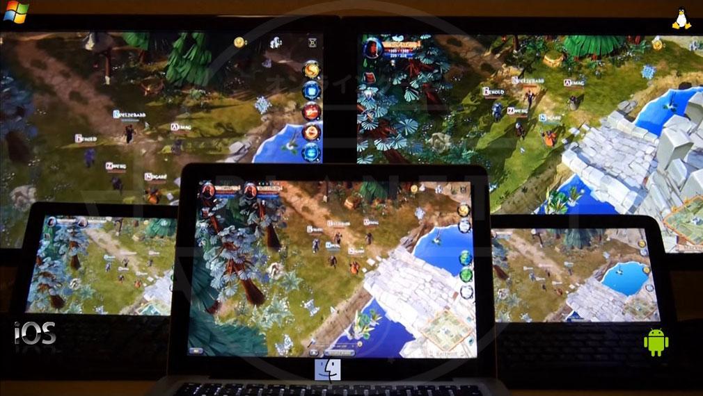 Albion Online(アルビルオンライン) pc 様々なデバイスでのプレイ