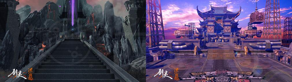 ブレイドアンドソウル (Blade and Soul) BnS:Hongmoon Rising 世界観フィールドSS