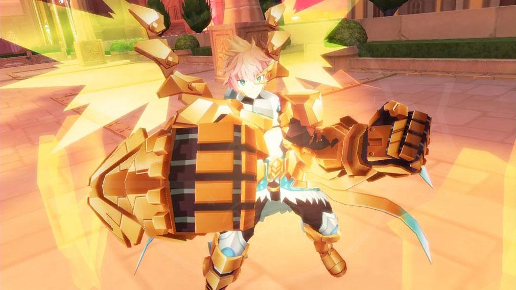 叛逆性ミリオンアーサー(はんぎゃくせいMA) 鉄拳×ティターニアの『シンクロ』状態スクリーンショット