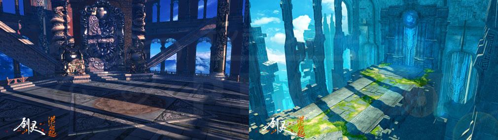 ブレイドアンドソウル (Blade and Soul) BnS:Hongmoon Rising 世界フィールドSS