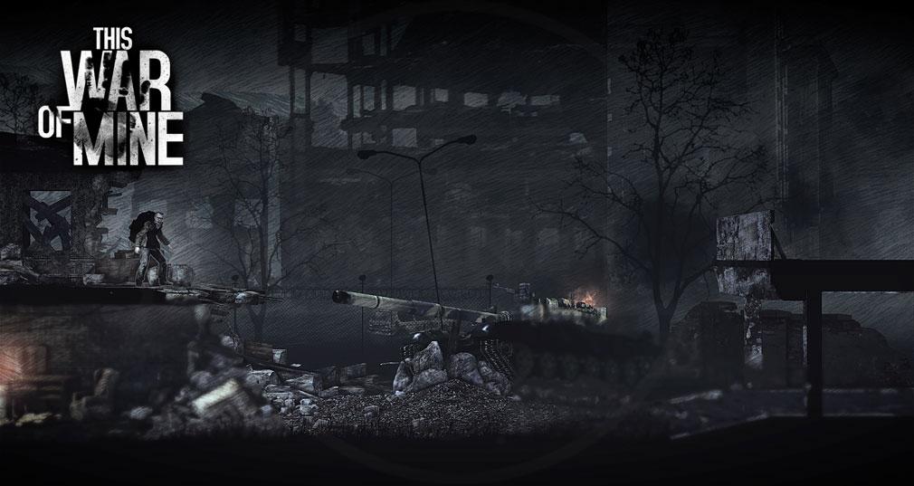 This War of Mine(ディスウォーオブマイン)TWoM PC 現代の戦争がテーマ