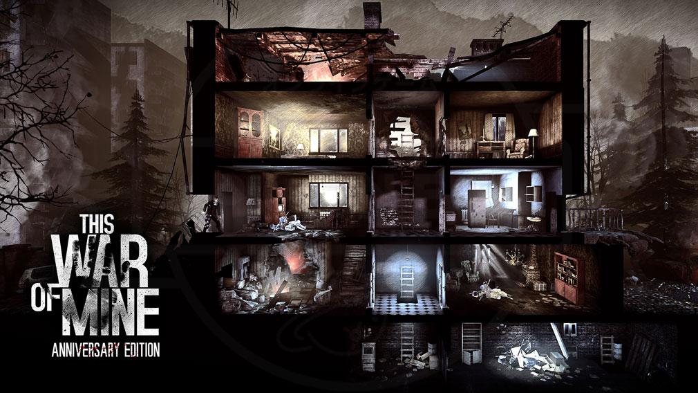 11 bit Studio社の「This War of Mine(ディスウォーオブマイン)TWoM PC」