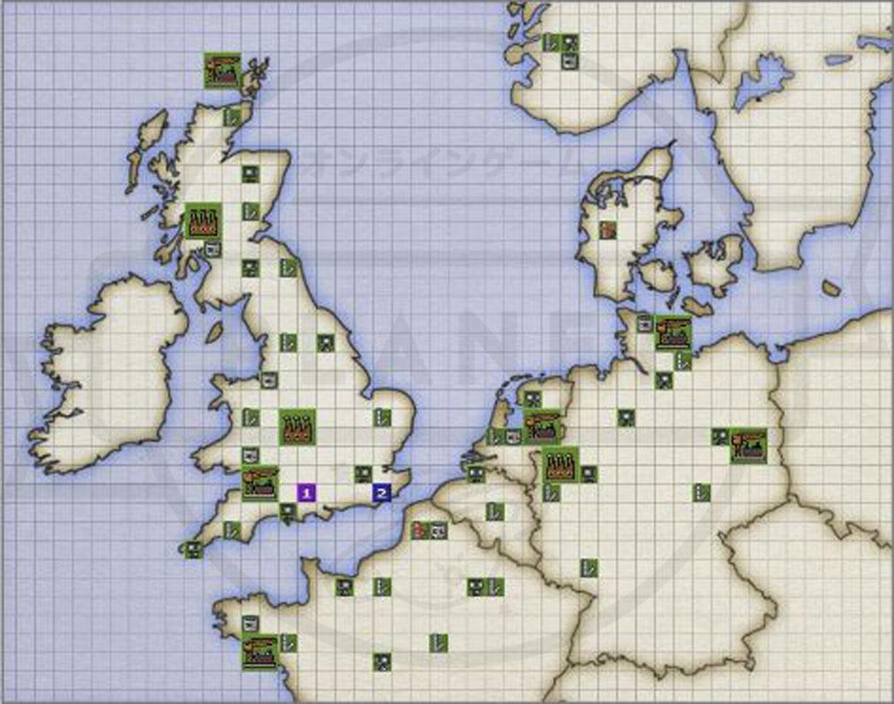 バトルオブブリテン(Battle of Britain)BoB マップ