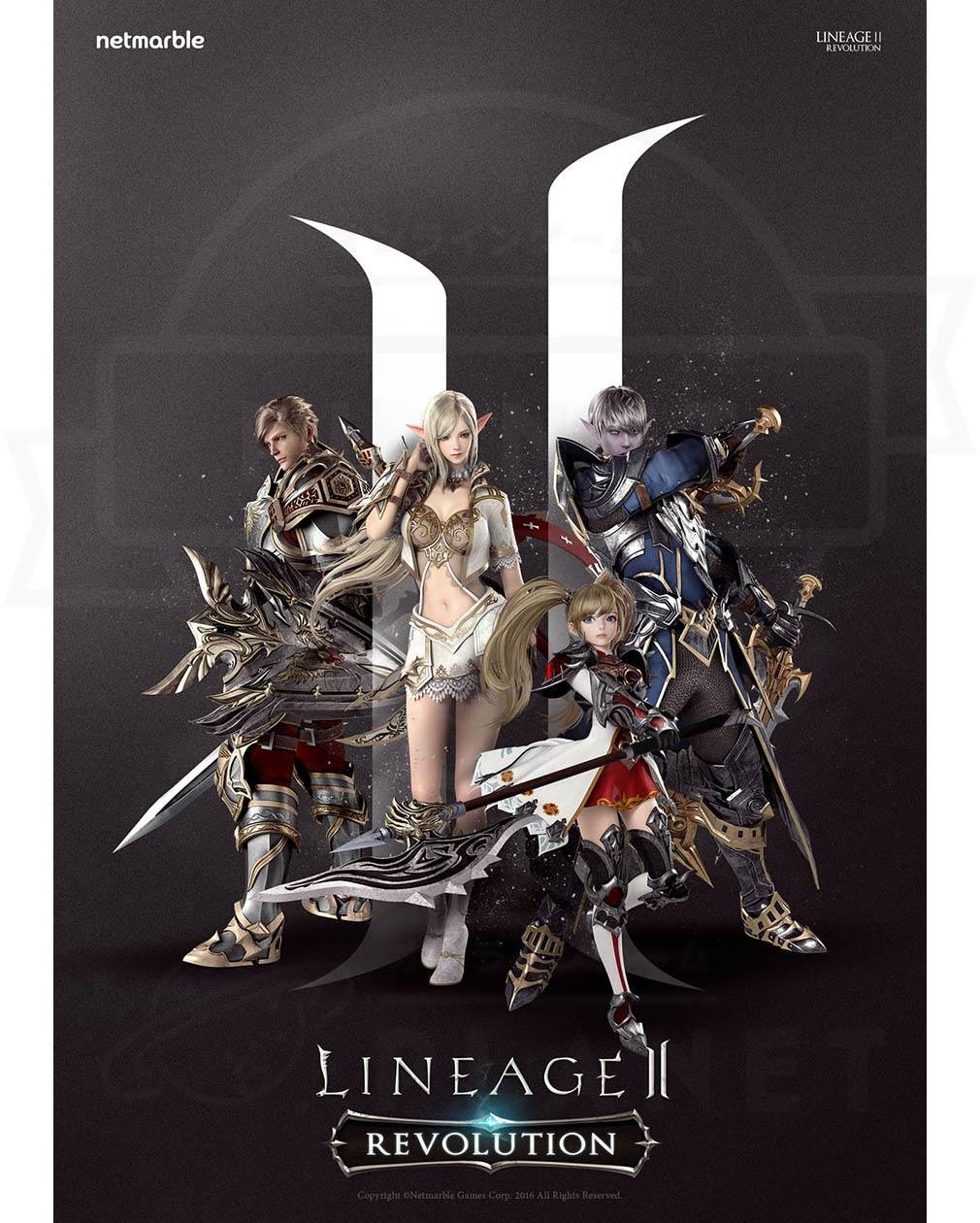 リネージュ2 レボリューション(Lineage2 Revolution) L2R ポスター