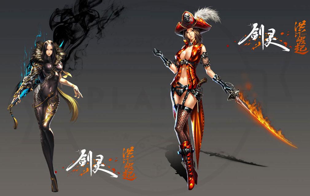 ブレイドアンドソウル (Blade and Soul) BnS:Hongmoon Rising お馴染みキャラクター
