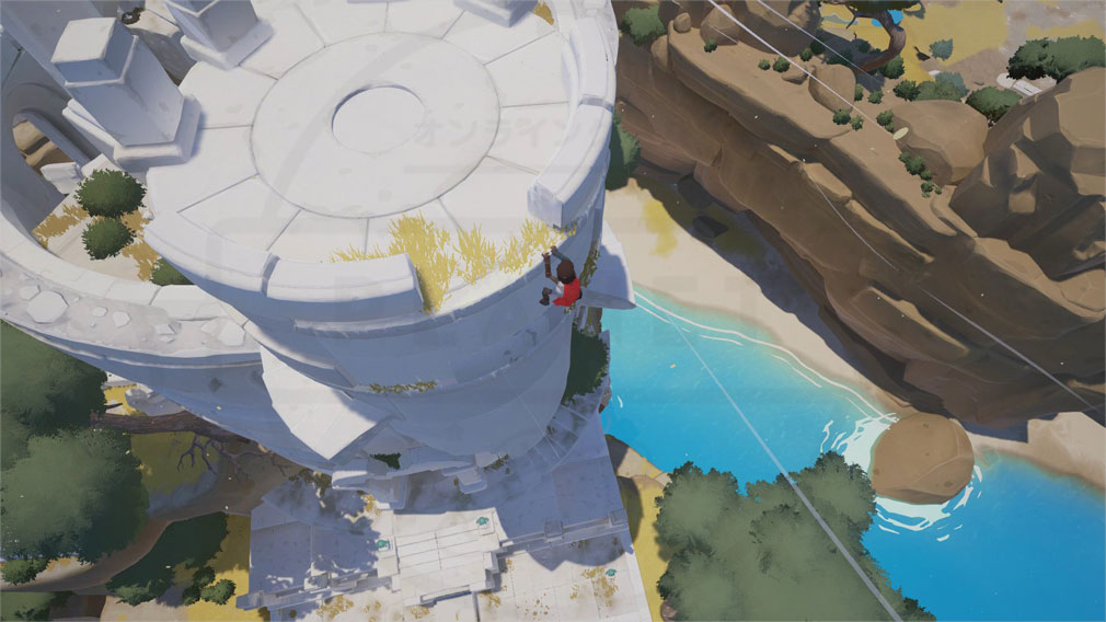 RiME PC 塔の頂上を目指すゲームスクリーンショット