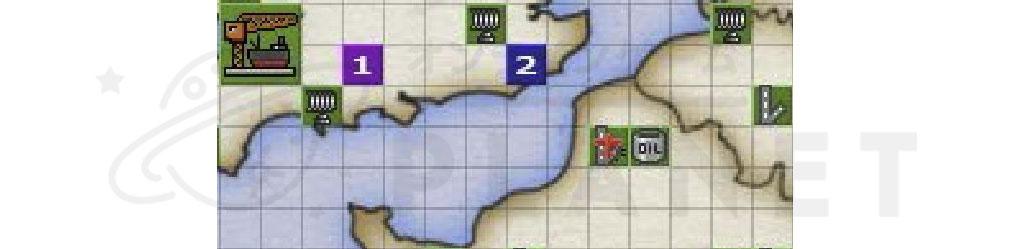 バトルオブブリテン(Battle of Britain)BoB 拡大マップ