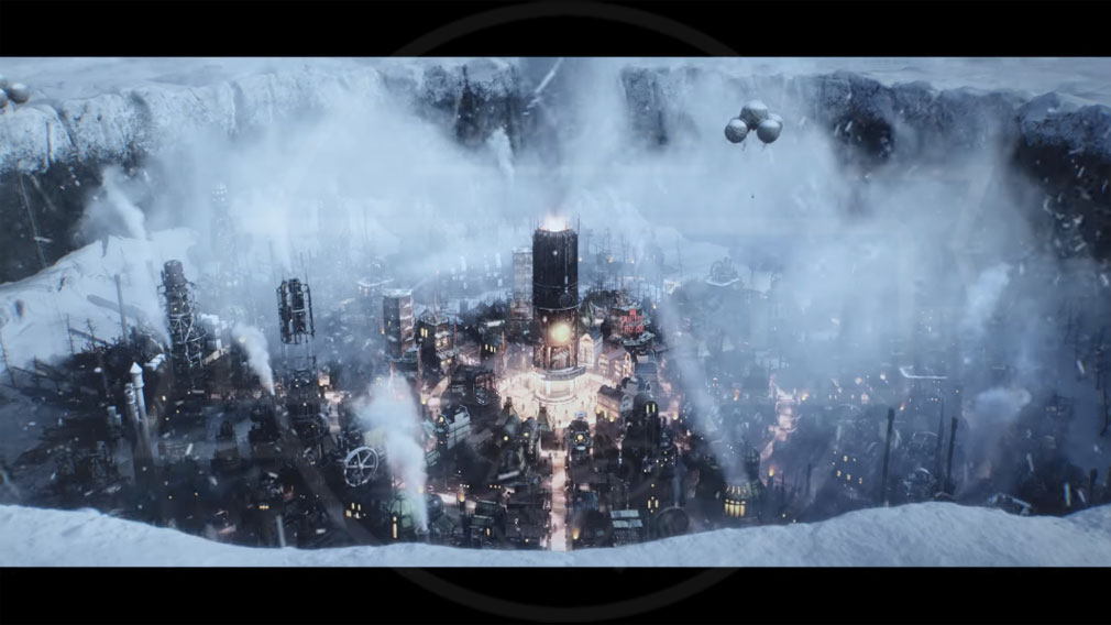 Frostpunk(フロストパンク) PC 地熱による蒸気動力技術を開発した都市