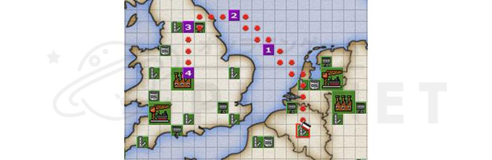 バトルオブブリテン(Battle of Britain)BoB ルート作成