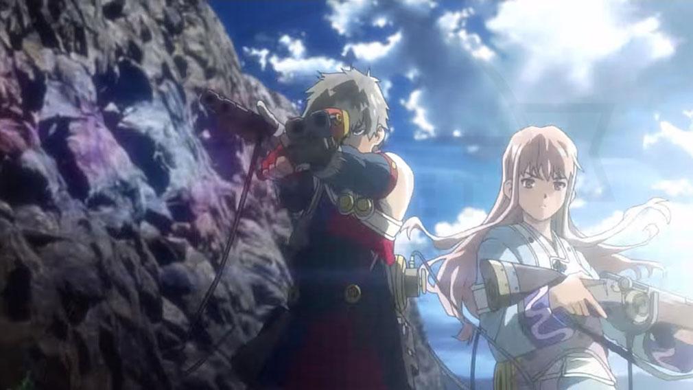 甲鉄城のカバネリ 乱 新キャラクターが登場する世界観イメージ