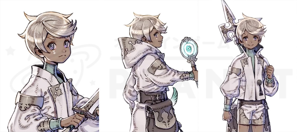 TERRA BATTLE2 (テラバトル2) PC キャラクター