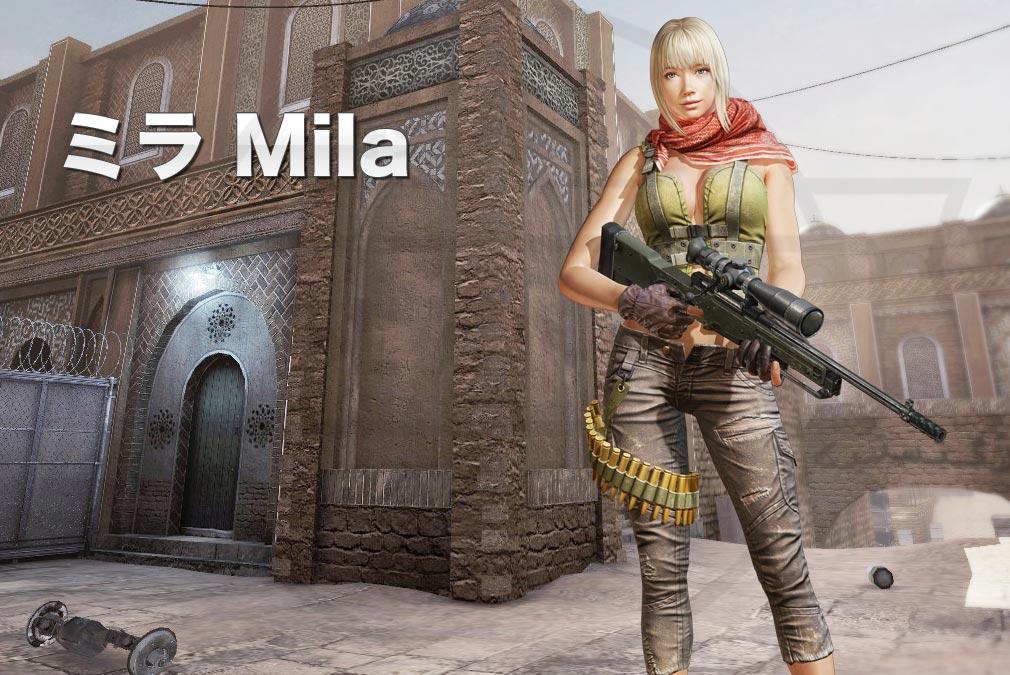 カウンターストライクオンライン2(CSO2)日本 テロリスト『ミラ(Mila) CV:沢城 みゆき』