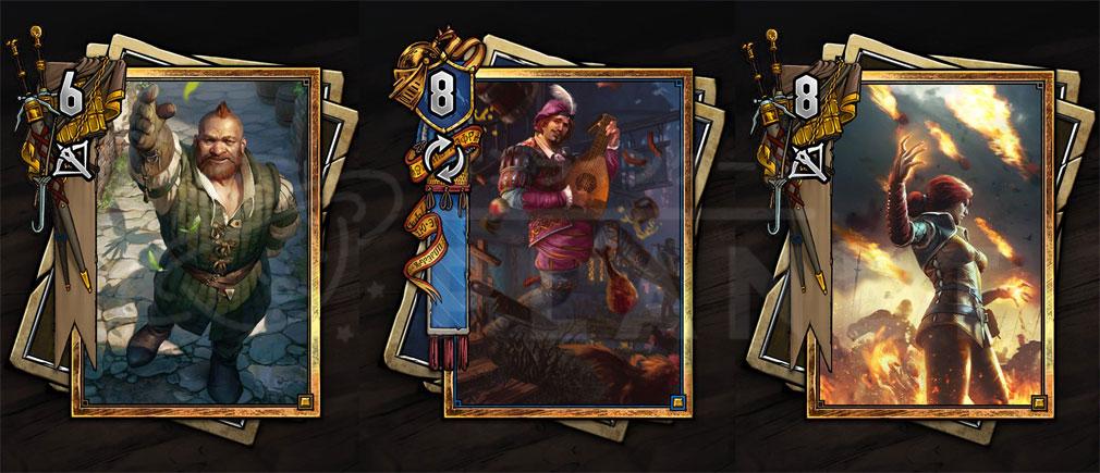 グウェント ウィッチャーカードゲーム PC カード