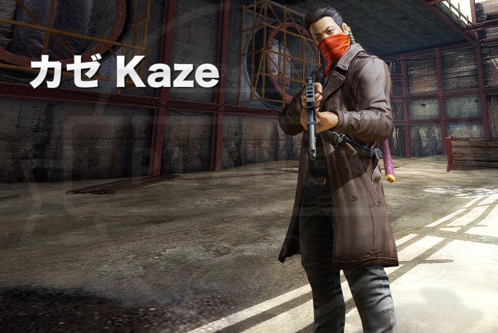 カウンターストライクオンライン2(CSO2) テロリスト『カゼ(Kaze) CV:-』