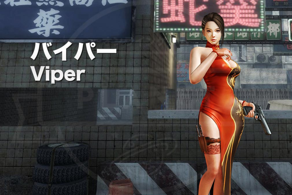 カウンターストライクオンライン2(CSO2) テロリスト『バイパー(Viper) CV:-』