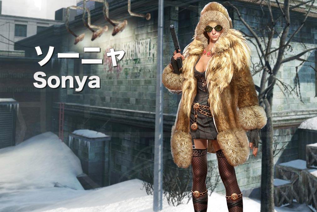カウンターストライクオンライン2(CSO2) テロリスト『ソーニャ(Sonya) CV:-』