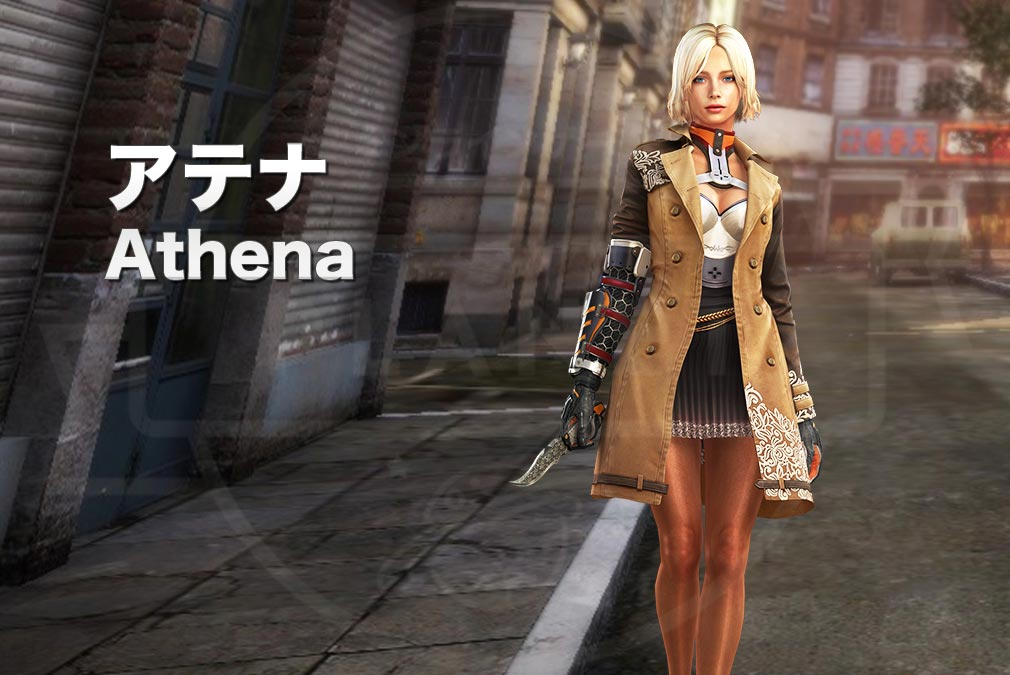 カウンターストライクオンライン2(CSO2) テロリスト『アテナ(Athena) CV:-』