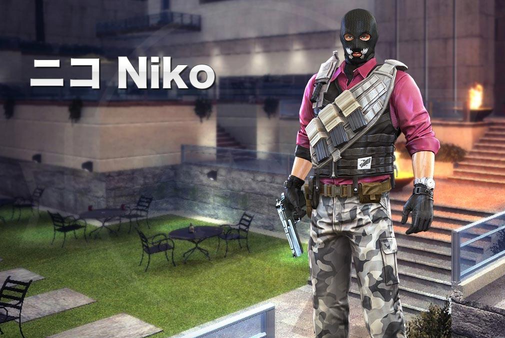 カウンターストライクオンライン2(CSO2) テロリスト『ニコ(Niko) CV:-』