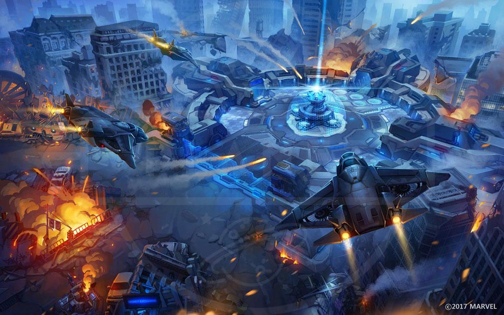 Marvel End Time Arena(マーベラス エンドタイム アリーナ) バトル世界観