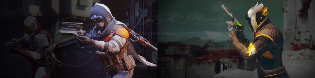Destiny 2(ディスティニー2) PC アーマーウォーロック、アーマーハンター