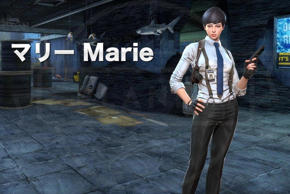 カウンターストライクオンライン2(CSO2) 対テロ部隊/CTU『マリー(Marie) CV:-』