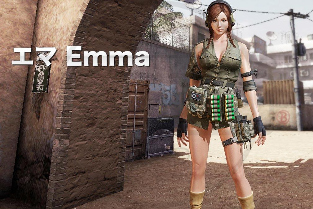 カウンターストライクオンライン2(CSO2) 対テロ部隊/CTU『エマ(Emma) CV:-』