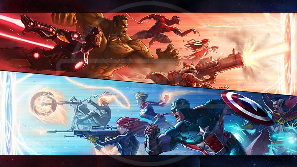 Marvel End Time Arena(マーベラス エンドタイム アリーナ) キービジュアル