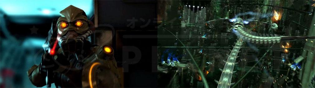 PCブラウザ版 ファイナルファンタジー13(FF13) 聖府軍、都市