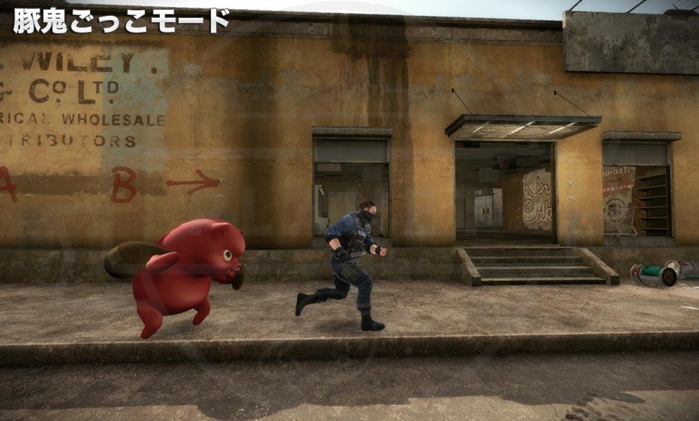 カウンターストライクオンライン2(CSO2) 豚鬼ごっこモード